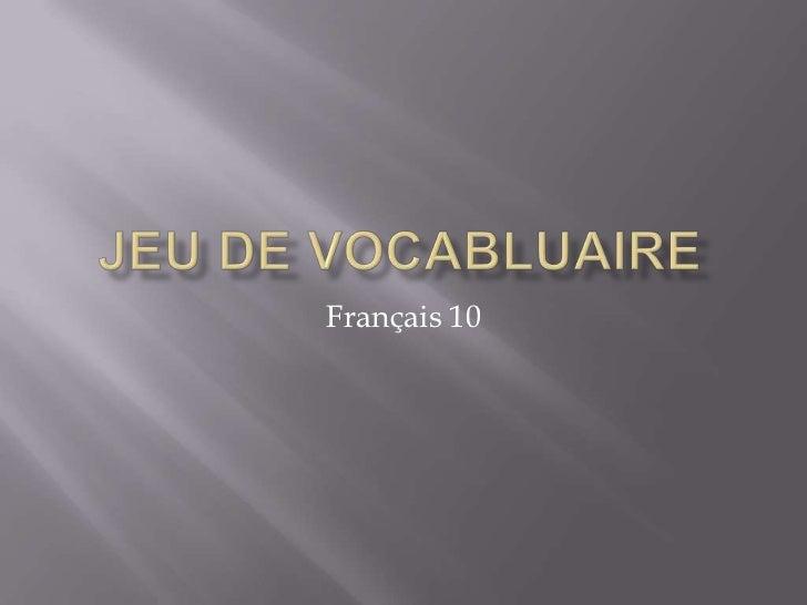 Français 10
