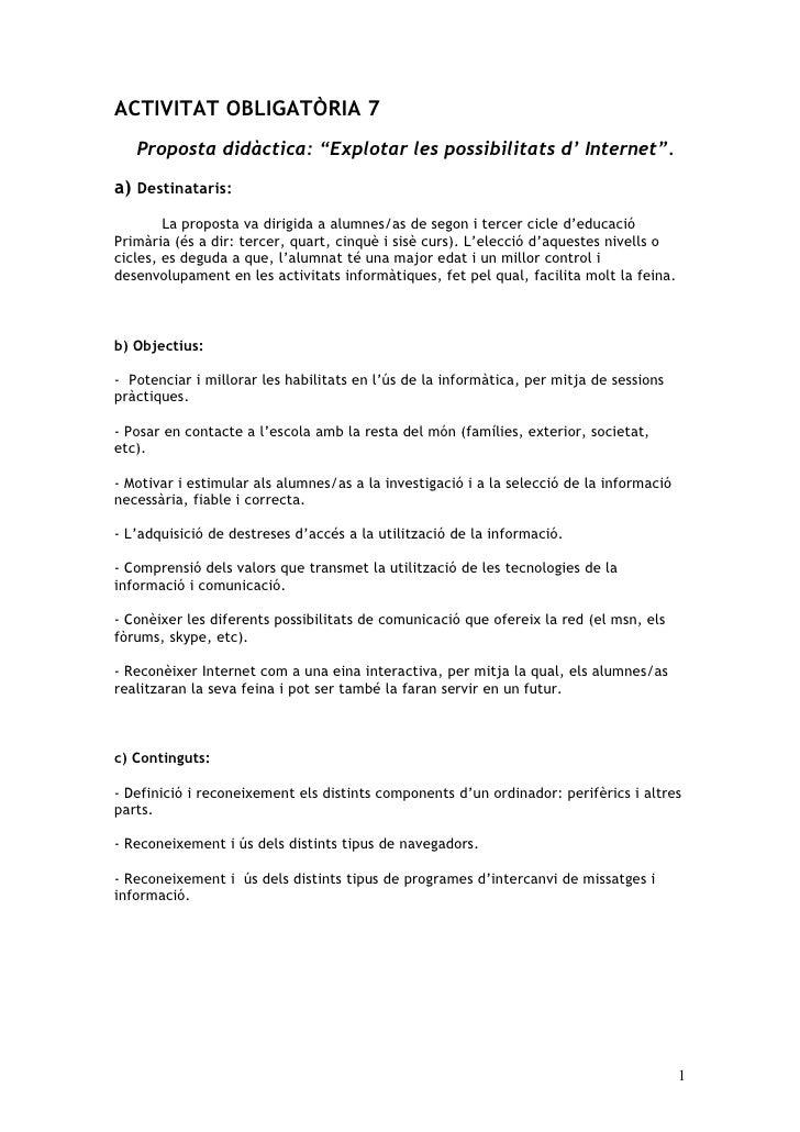 Activitat ObligatòRia 7