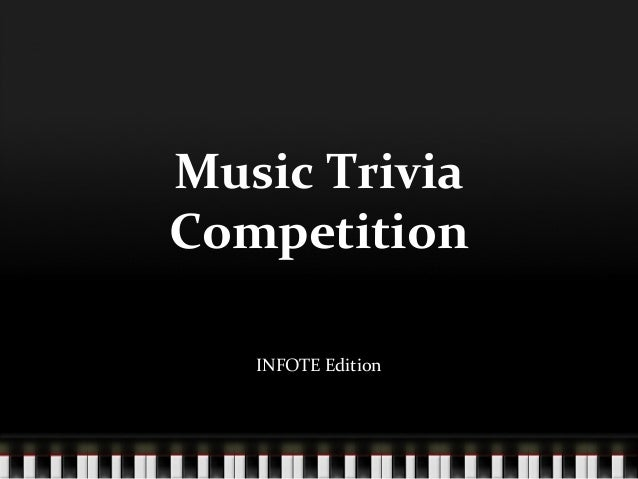 Activity 3 Music Trivia Competition