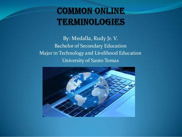 Activity 9 common online terminologies  rudy medalla jr.