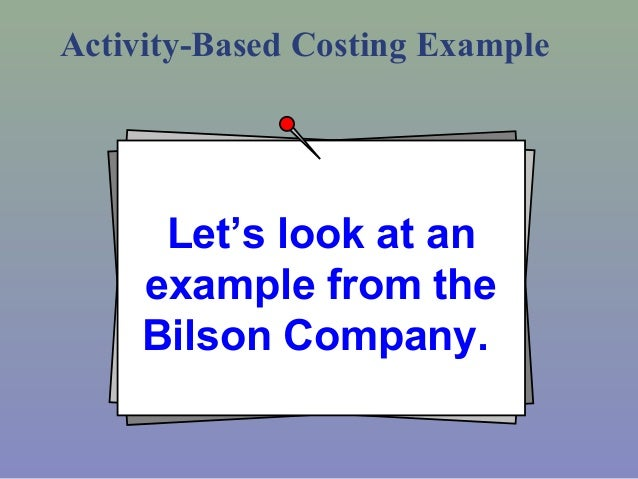 traditional costing versus activity based costing advantages What are advantages of traditional costing system it still has some pros versus the allocated on thebases of actual activity performed in specific cost.