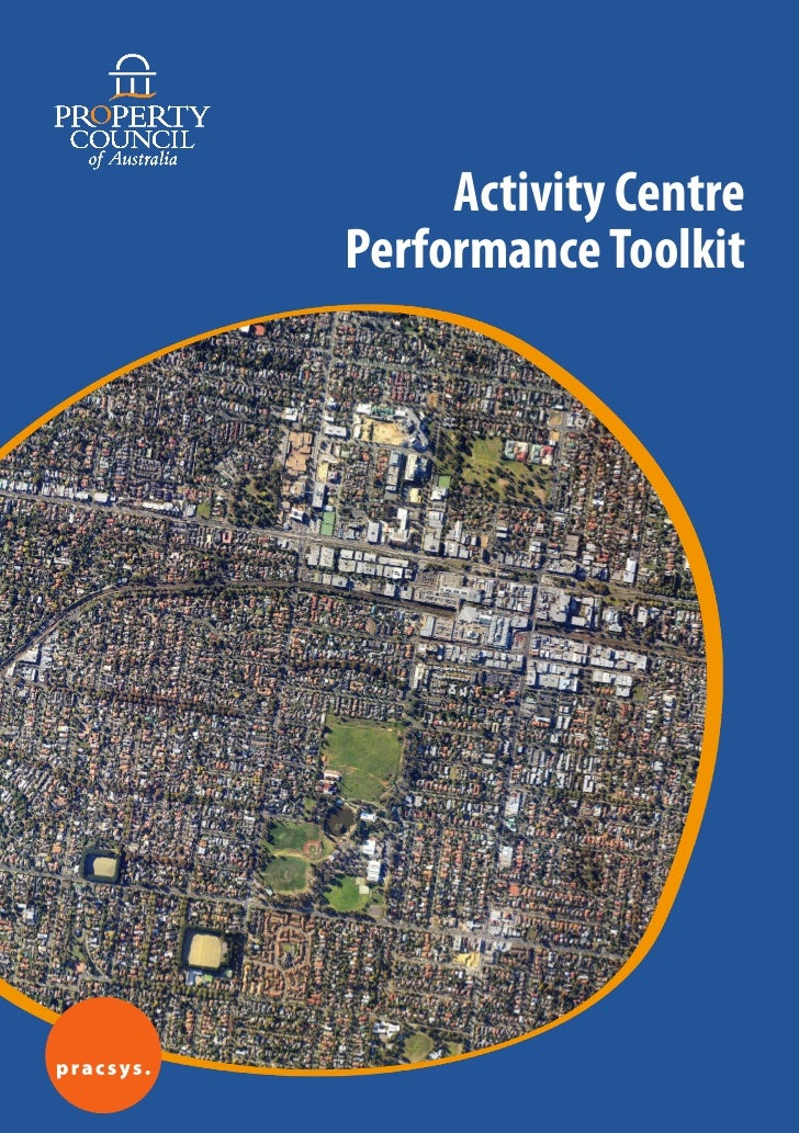 Activity CentrePerformance Toolkit