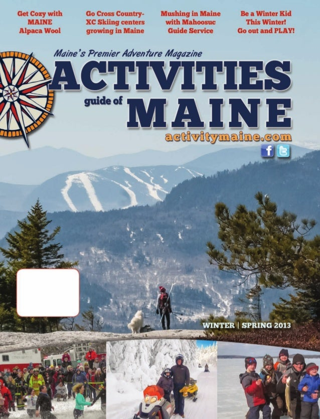 Activity Maine Winter Guide, 2013