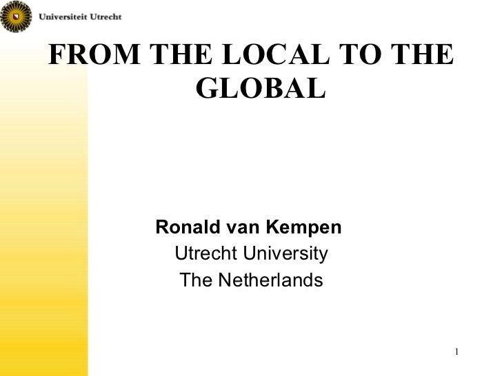 De lo local a lo global: la relevancia del barrio en una era de globalización y movilidad