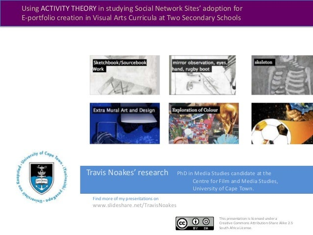 This presentation is licensed under a Creative Commons Attribution-Share Alike 2.5 South Africa License. Travis Noakes' re...