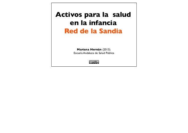 Activos y obesidad infantil 2013