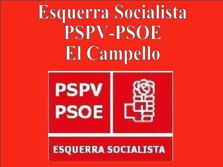 Esquerra Socialista PSPV-PSOE El Campello