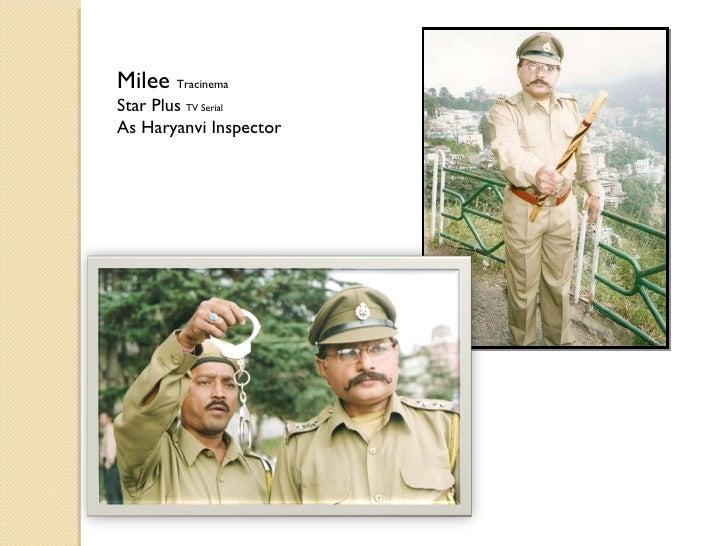 Milee  Tracinema Star Plus  TV Serial As Haryanvi Inspector