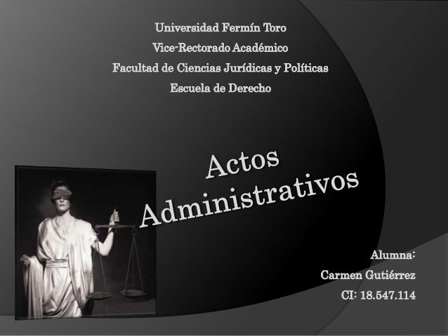 Universidad Fermín Toro Vice-Rectorado Académico Facultad de Ciencias Jurídicas y Políticas Escuela de Derecho Alumna: Car...