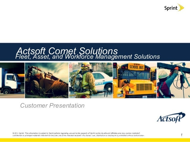 Actsoft mobile worker and fleet solutions