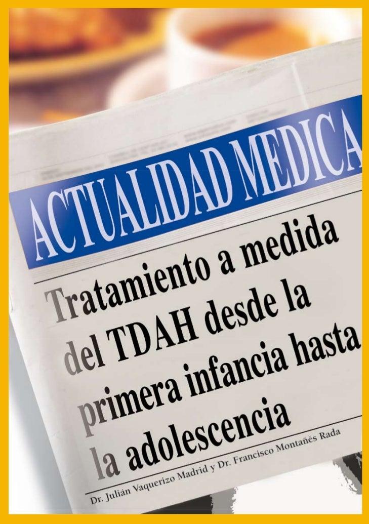 Tratamiento del TDAH a medida en la primera infancia                                         interferencia de los síntomas...