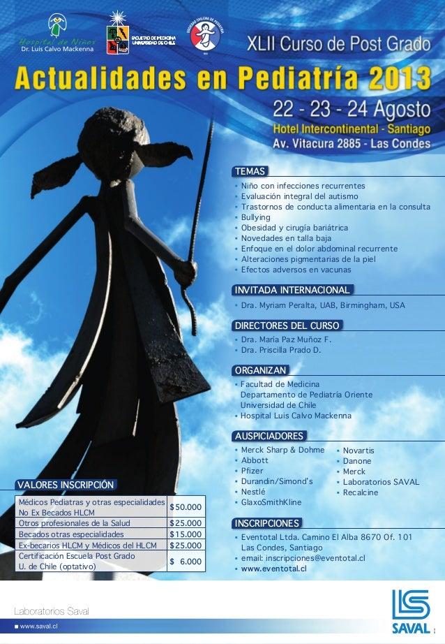 Actualidades pediatria 2013