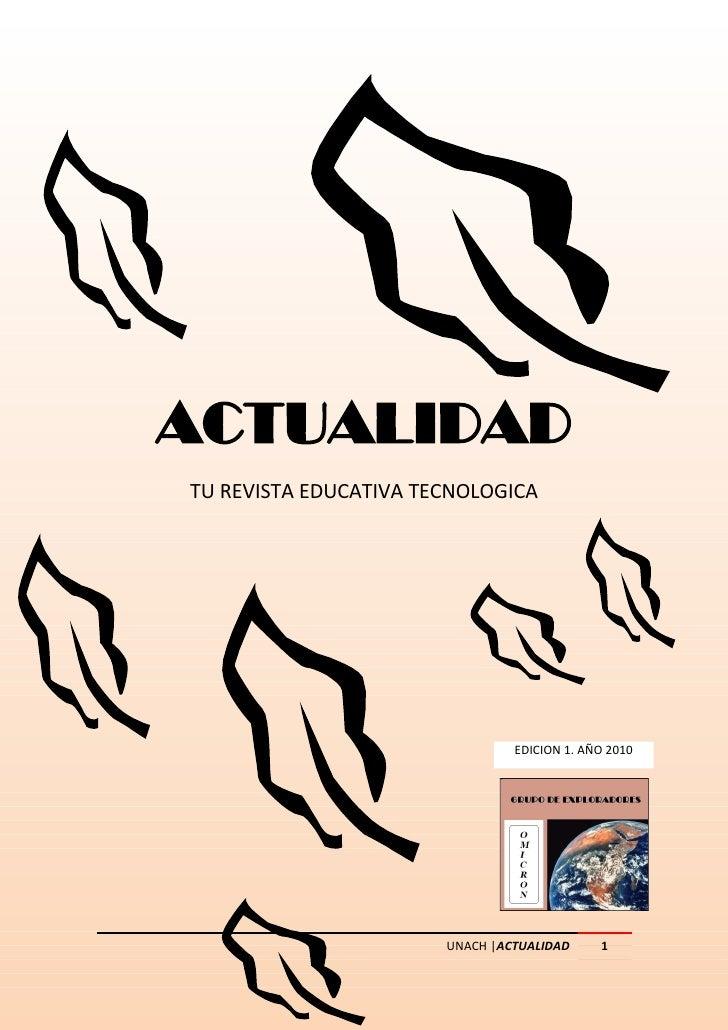 Actualidad revista digital