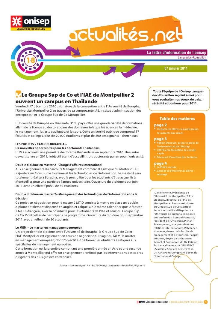 Actualité.net 18 07janv11