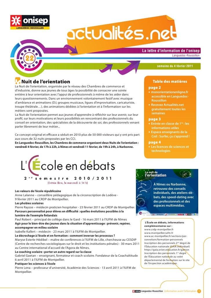 Actualité.net 22 4fev11