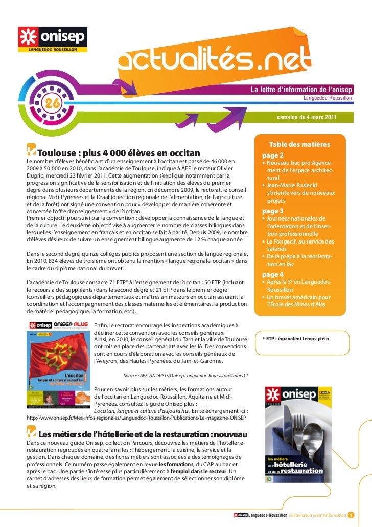 Actualité.net 26 4mars11