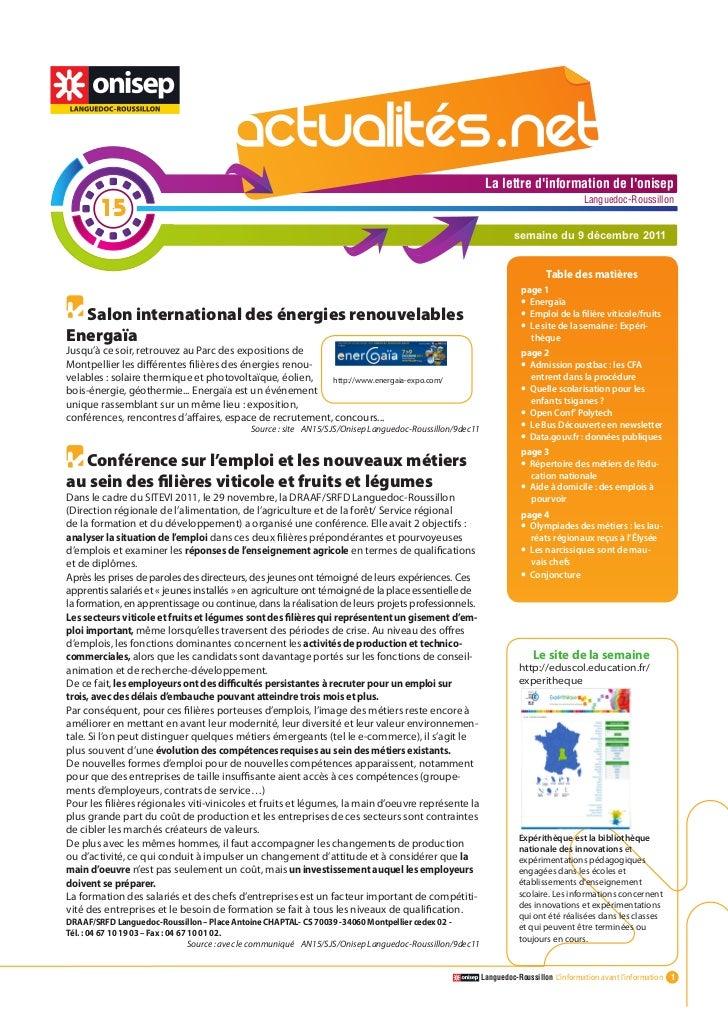 Actualitesnet n°15 9dec11 (1)