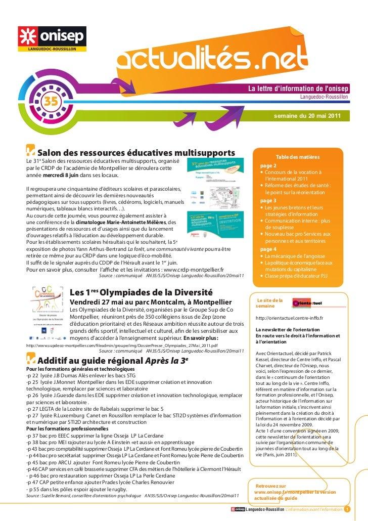 Actualites net n°35_20mai11