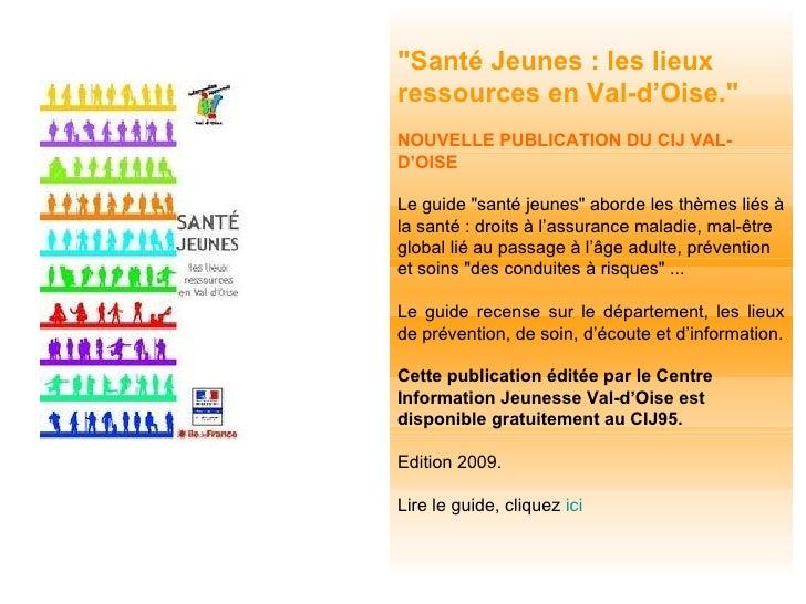 Actualités Information Jeunesse Val-d'Oise