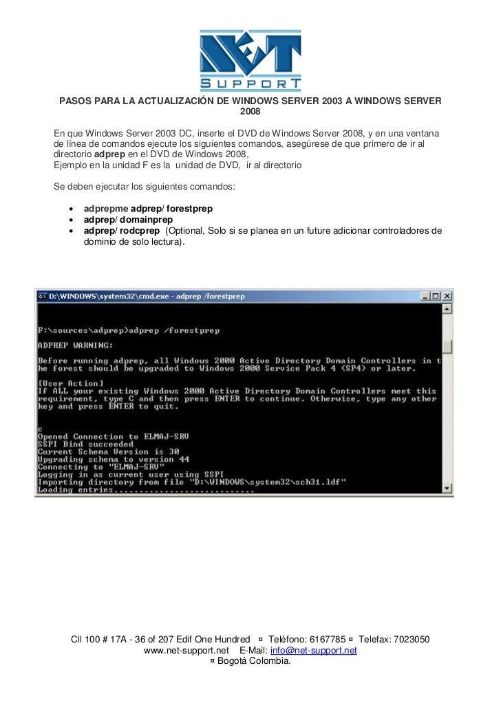 Manual De Instalacion De Windows Server 2008