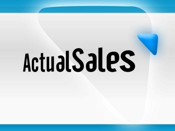 Actual sales _2011