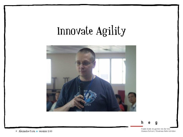 Innovate Agility© Alexandre Cuva  version 1.00