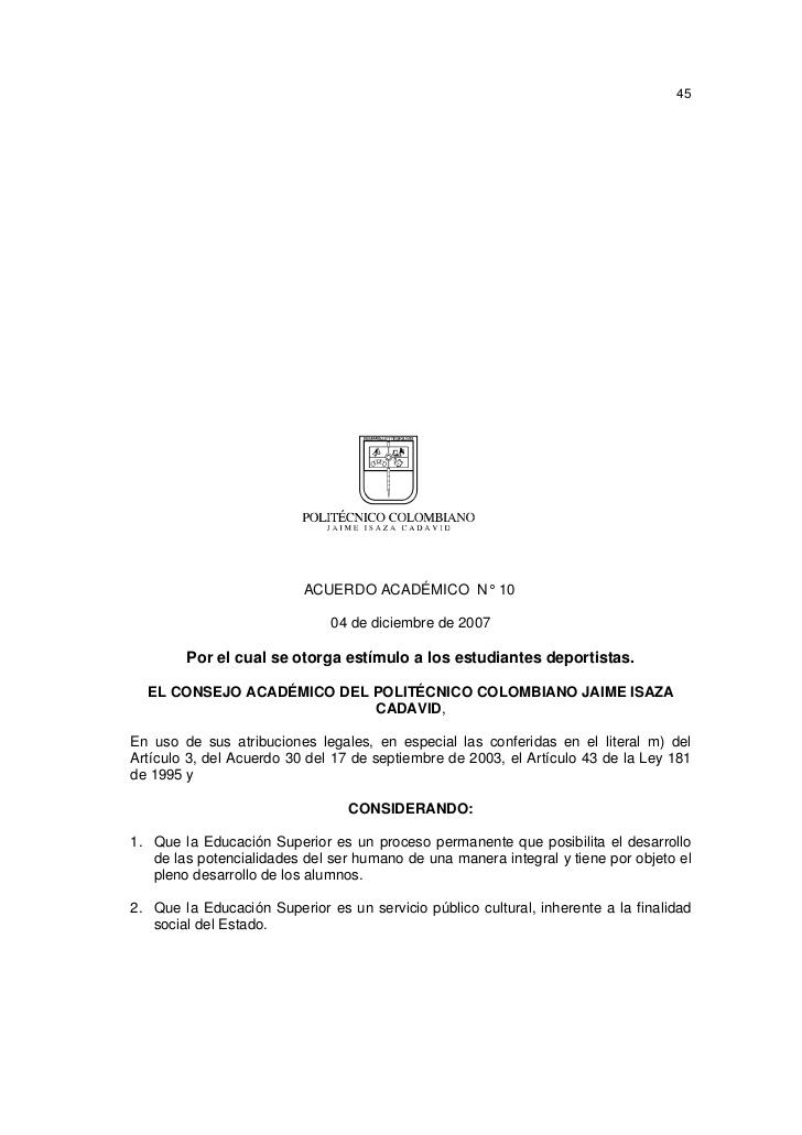Acuerdo Directivo 12 de 2002