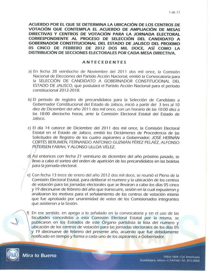 ACUERDO DE AMPLIACIÓN DE MESAS DE VOTACIÓN