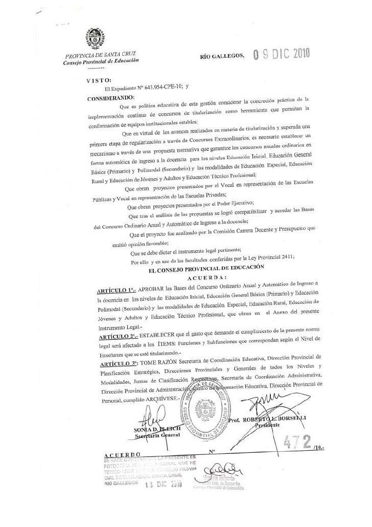Acuerdo 472   titularización febrero 2011
