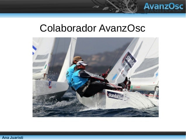 Colaborador AvanzOscAna Juaristi