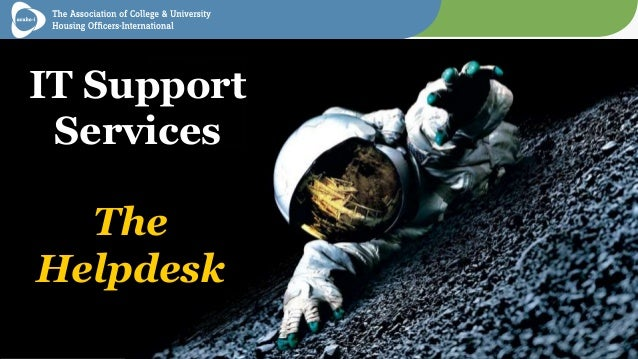 IT Support Services The Helpdesk