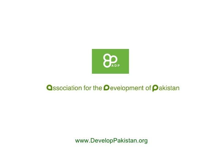 www.DevelopPakistan.org
