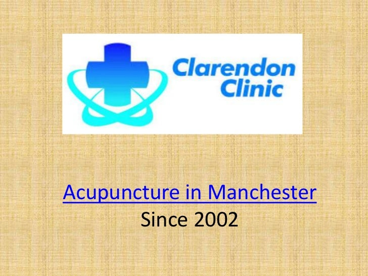 Acupuncture in Manchester       Since 2002