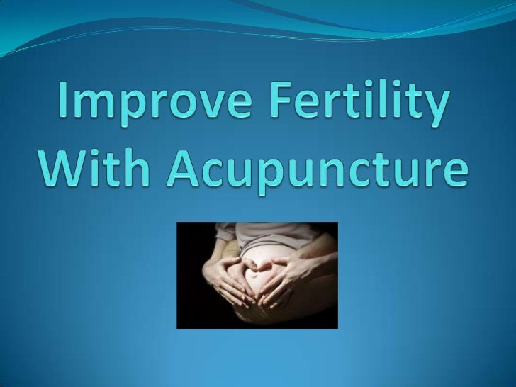 The Fertility Problem  Today, an alarming number of women   around the world are experiencing   unexplained infertility. ...