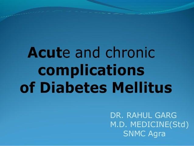 DR. RAHUL GARG M.D. MEDICINE(Std) SNMC Agra