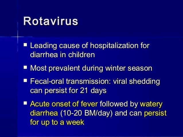 acute diarree en overgeven
