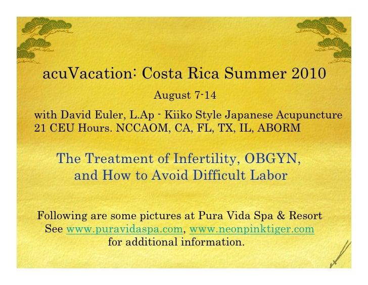 Acu Vacation2010