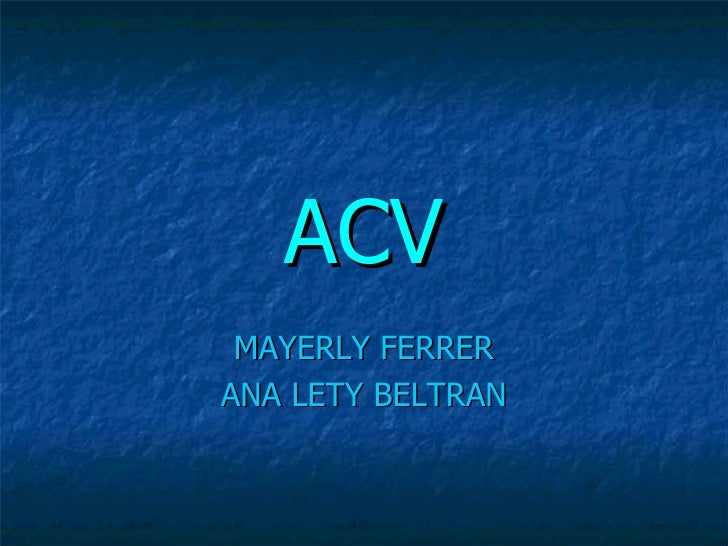 ACV MAYERLY FERRER ANA LETY BELTRAN