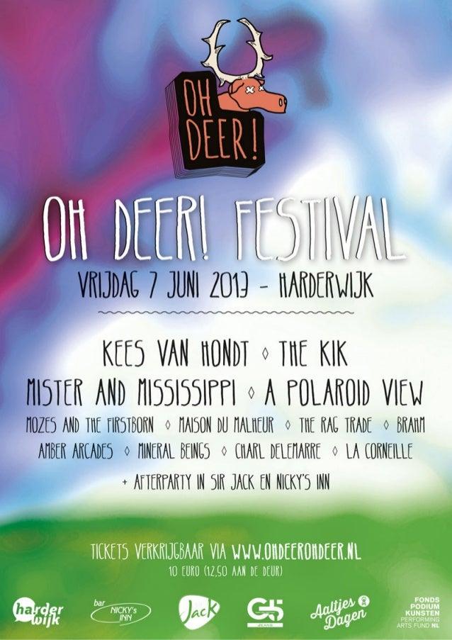 Aaltjesdagen Harderwijk OhDeer Festival