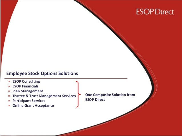 Stock options esop