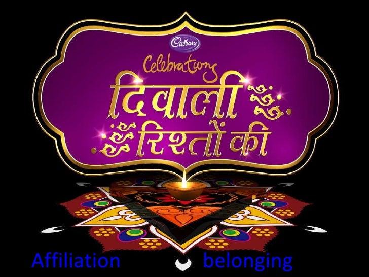 Affiliation                belonging