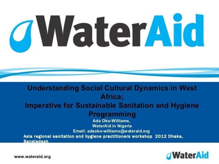 Timeyin Uwejamomere,                          Senior Policy Analyst (Urban), WaterAid                          Email: time...