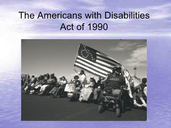 americans with disabilities act 1 essay Review essay has the americans with disabilities act reduced employment for people with disabilities the decline in employment of people with disabilities: a.