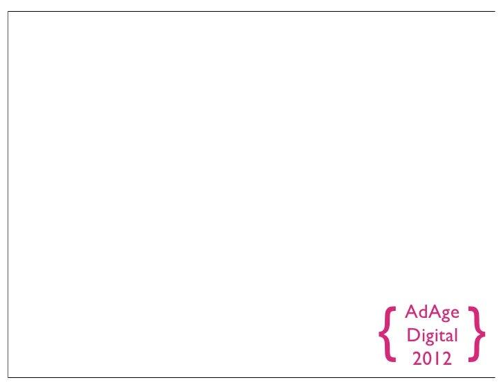 AdAge Digital Conference 2012 Recap