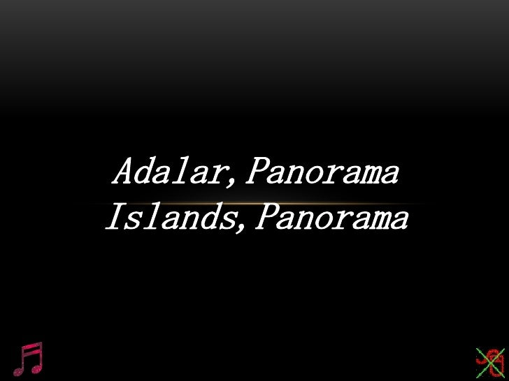 Adalar,Panorama<br />Islands,Panorama<br />