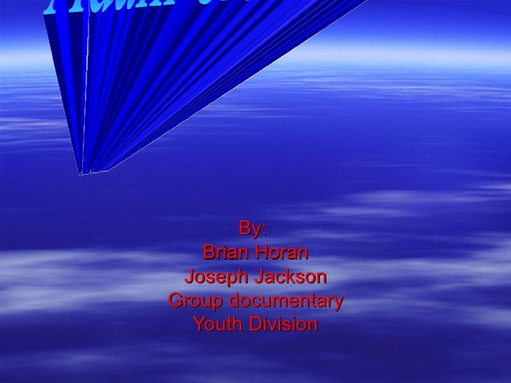 By:  Brian Horan Joseph Jackson Group documentary Youth Division Adam Crosswhite