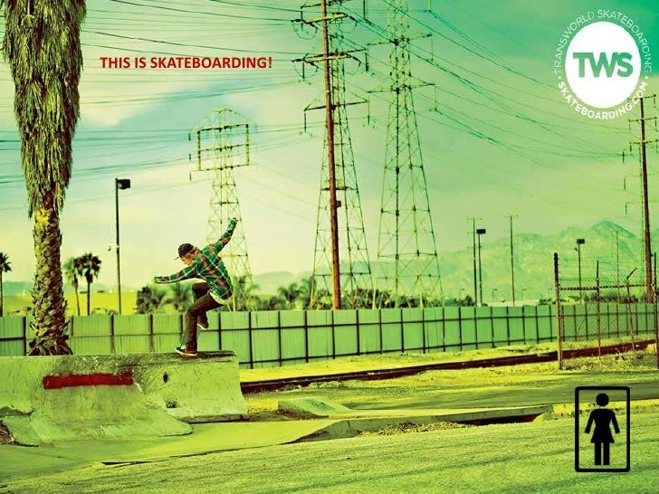 THIS IS SKATEBOARDING!<br />