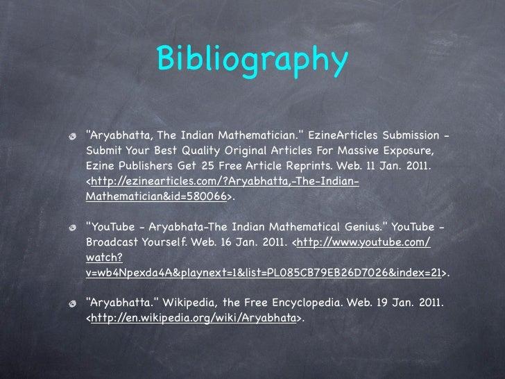 bio article essay