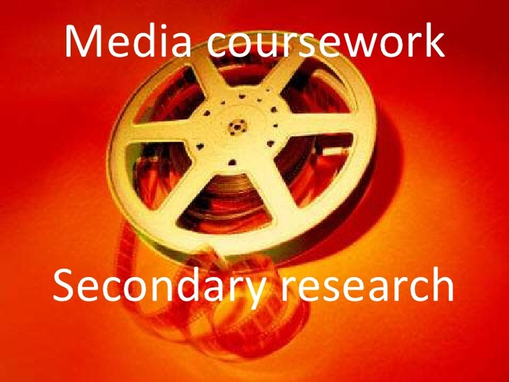 Media courseworkSecondary research