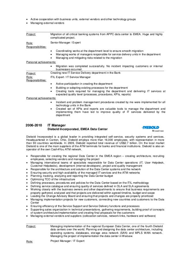 It Director Resume] It Director Sample Resume It Resume Writer ...